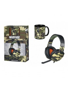 Headset Indeca Warfare +...