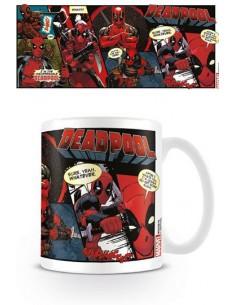 Taza Deadpool Comic