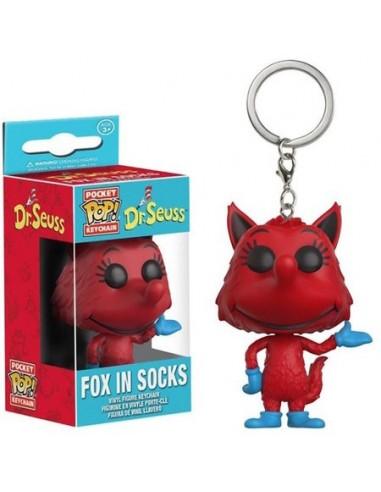 Llavero POCKET POP! Dr. Seuss Fox in...