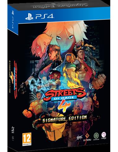 Streets Of Rage 4 Asignature Edición...