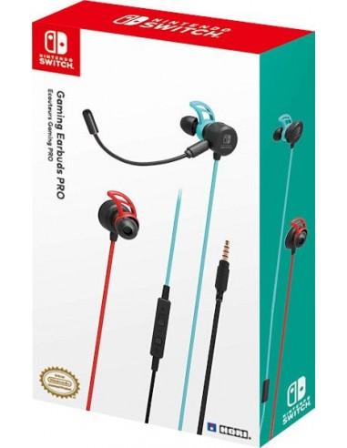 Hori Gaming Earbuds Pro Azul/Rojo...