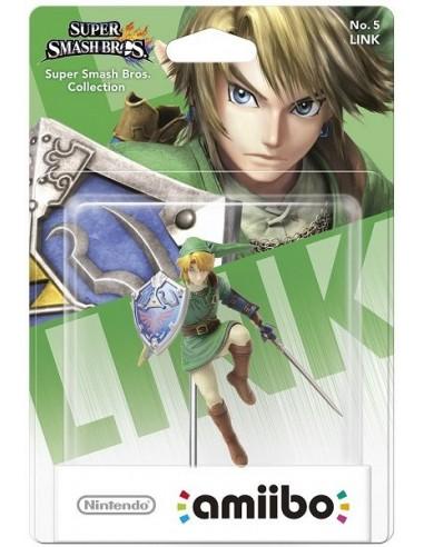 Figura Amiibo Link (Serie Super Smash...