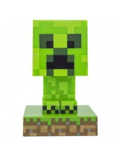 Lámpara Minecraft 3D Creeper