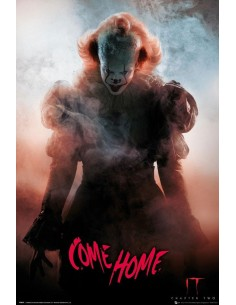Póster IT Pennywise Come Home