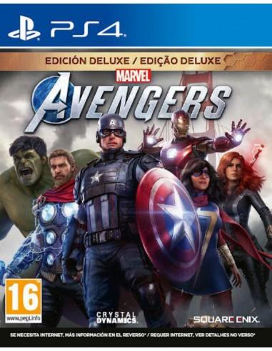 Marvel's Avengers: Edición Deluxe (PS4)