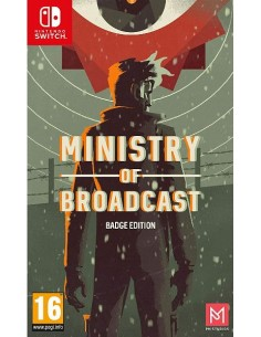 Ministry Of Broadcast Badge...
