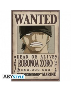 Póster One Piece Wanted...