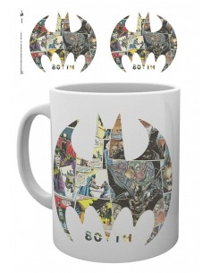 Taza Batman Comic Logo