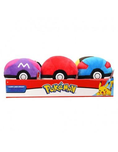 Peluche Pokemon Poke Ball Surtido 11...