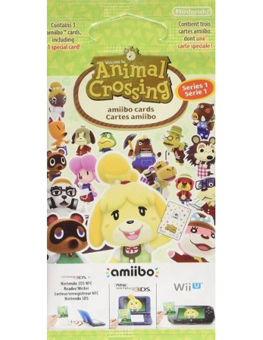 Pack 3 Tarjetas Amiibo Animal...