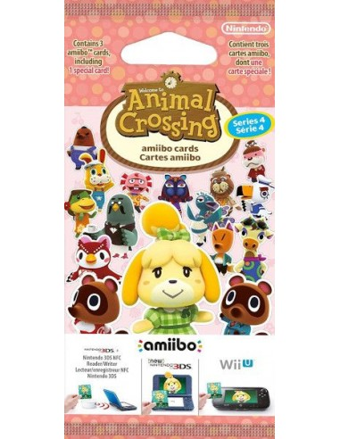 Pack 3 Tarjetas Amiibo Animal...