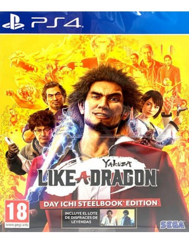 Yakuza Like A Dragoon: Day Ichi...