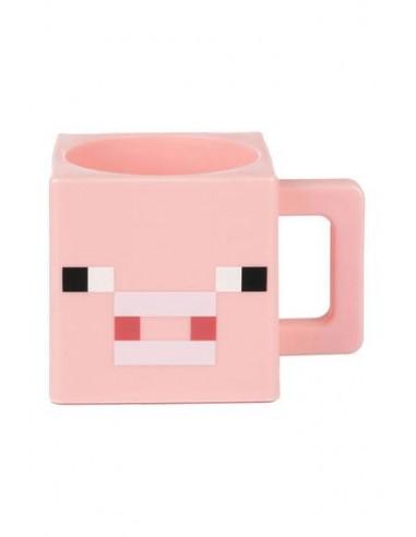 Taza Minecraft Cerdo Mojang