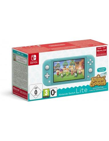 Consola Nintendo Switch Lite Turquesa...