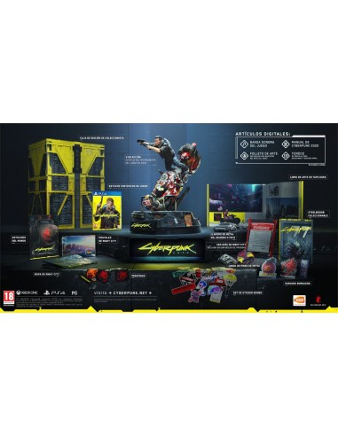 Cyberpunk 2077 Collector's Edition (PS4)