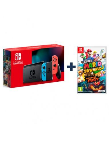 Pack Consola Nintendo Switch Azul...