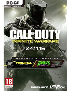CALL OF DUTY: INFINITE WARFARE (MAPA EXTRA TERMANIL Y PACK ZOMBIES)