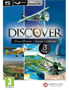 DISCOVER GREAT BRITAIN, EUROPE & ARABIA - FSX (STEAM)