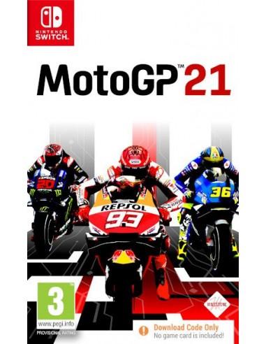 Moto GP 21 (Código de Descarga) (Switch)