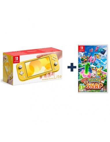Consola Nintendo Switch Lite Amarilla...