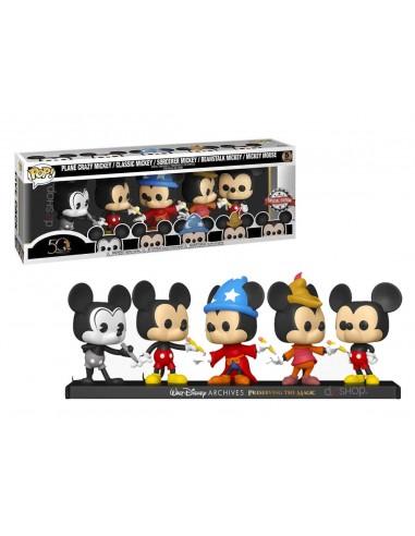 Pack 5 FUNKO POP! Disney Mickey Mouse...