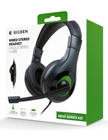 Headset Wired Verde/Negro Big Ben...