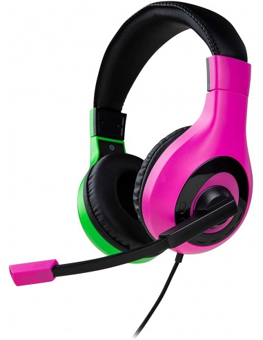 Headset Stereo Gaming Rosa y Verde...
