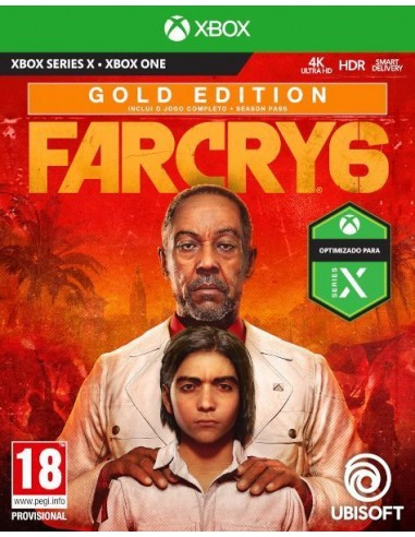 Far Cry 6 Gold Edition (Xbox Series X...