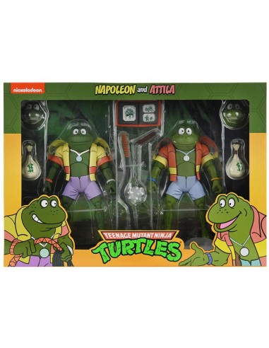 Tortugas Ninja Pack de 2 Figuras...