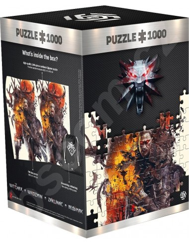 Puzzle The Witcher: Monsters (Incluye...