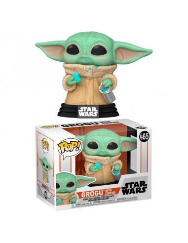 FUNKO POP! Star Wars Grogu With Cookies