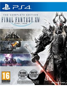 FINAL FANTASY XIV ONLINE THE COMPLETE EDITION