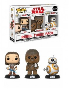 FUNKO POP! Star Wars Pack 3...