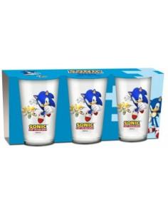 Pack 3 Vasos Sonic The...