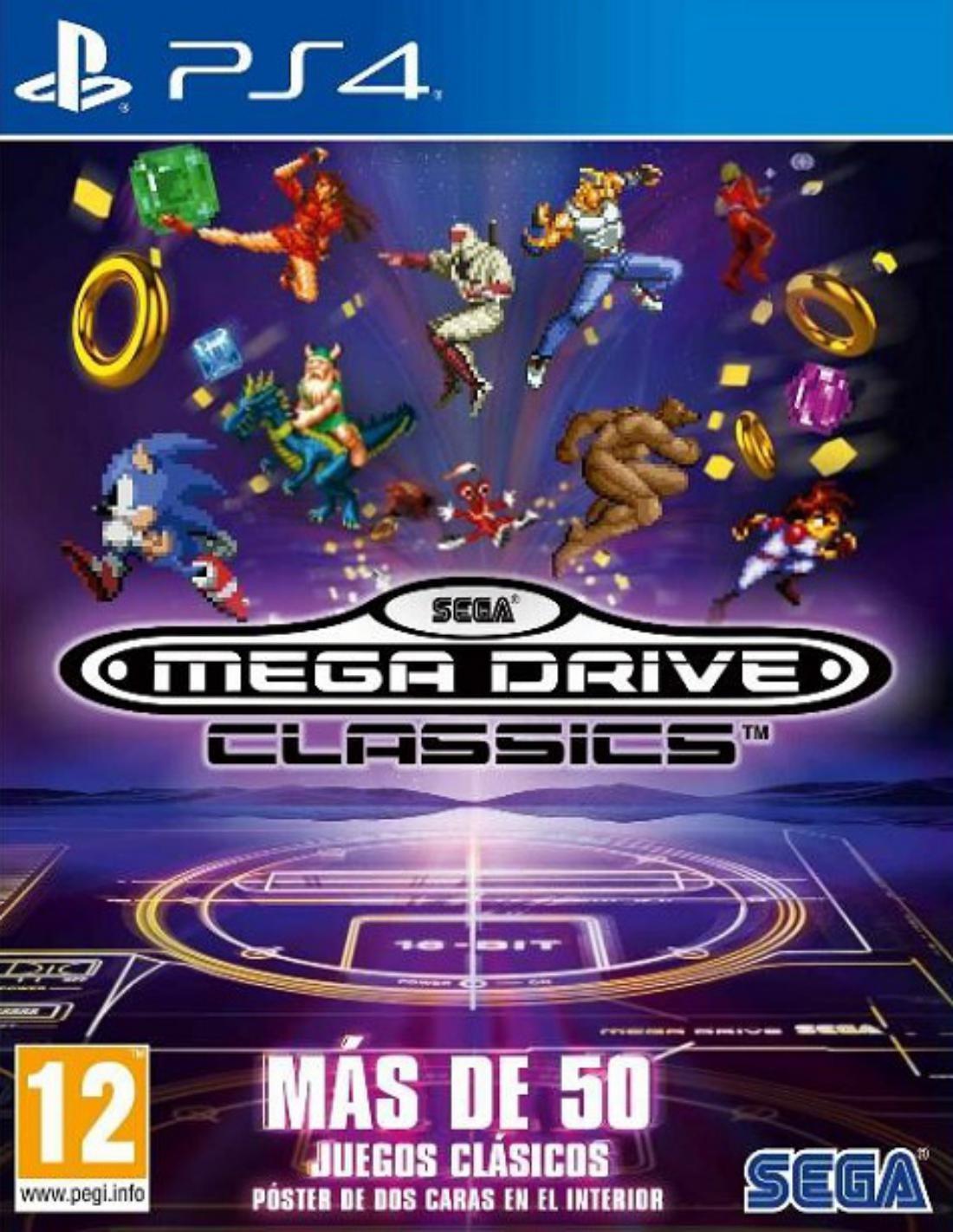 Sega Mega Drive Classics Ps4 Videojuegos De Ps4