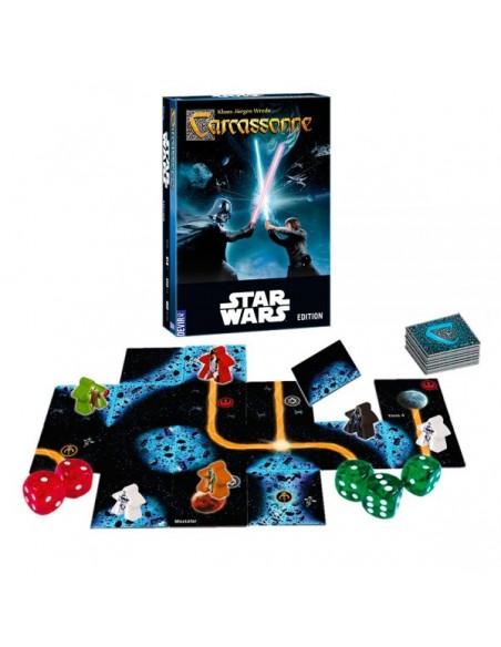 Juego De Mesa Carcassonne Star Wars